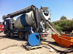 peristaltic pump at quarry