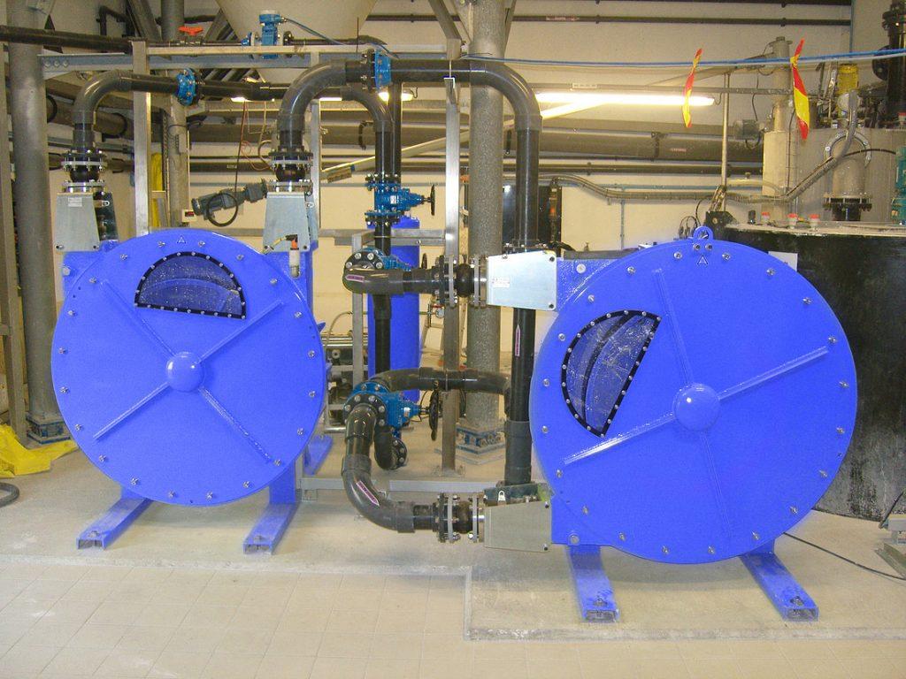 High Pressure Peristaltic Pump Installation