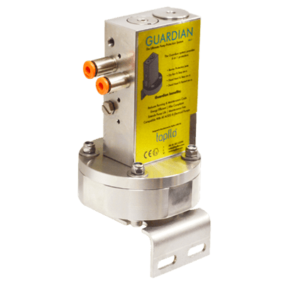 Guardian System for Air Operated Diaphragm Pumps
