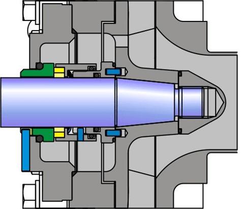CPC Centrifugal Pump Internal Mechanical Seal