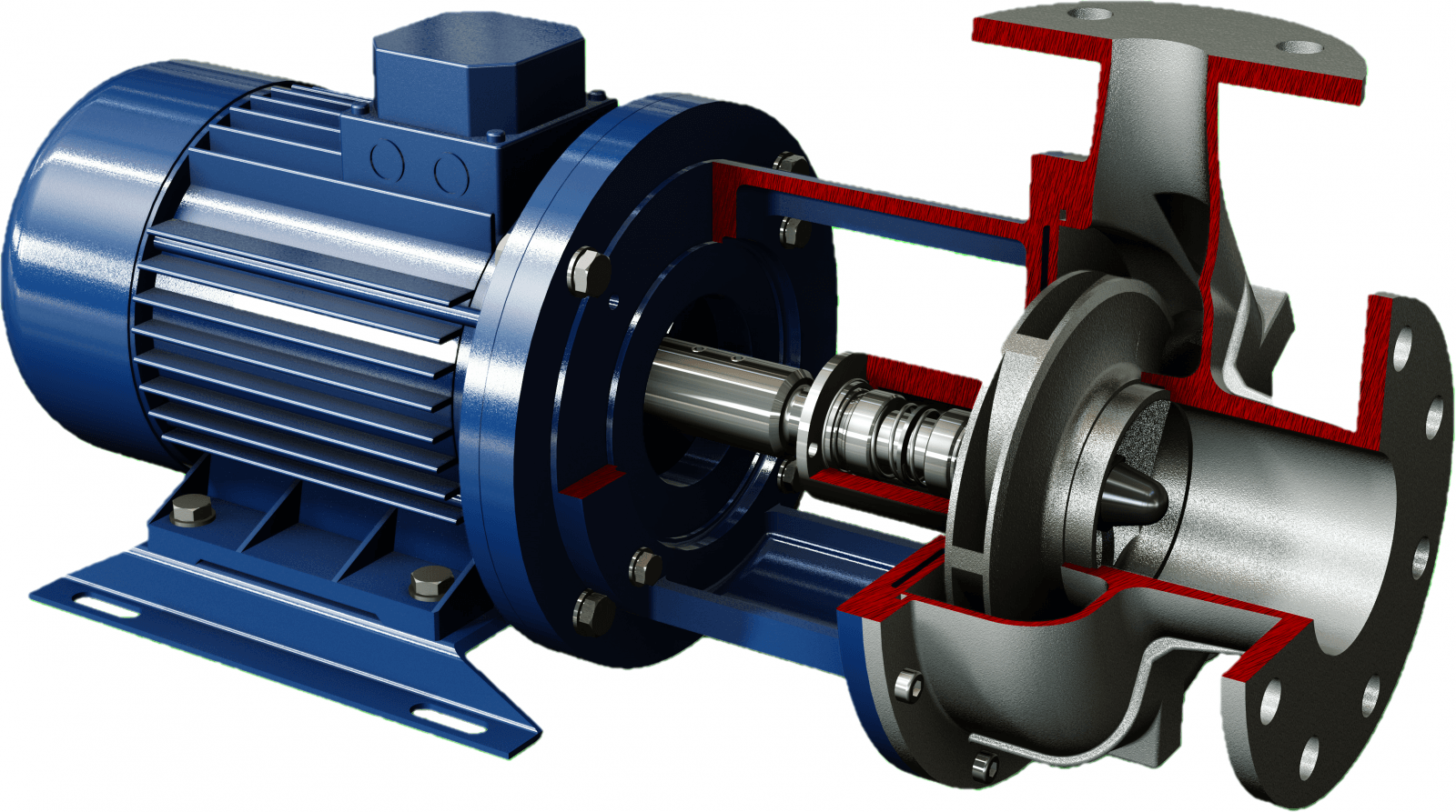 Robuschi Close Coupled Centrifugal Pump