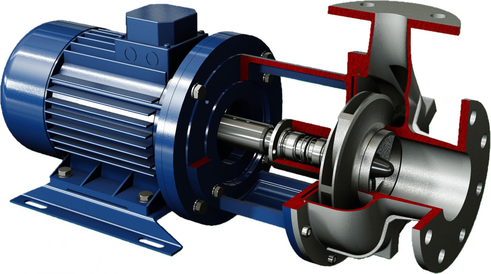 Salvatore Robuschi Close Coupled Centrifugal Pump