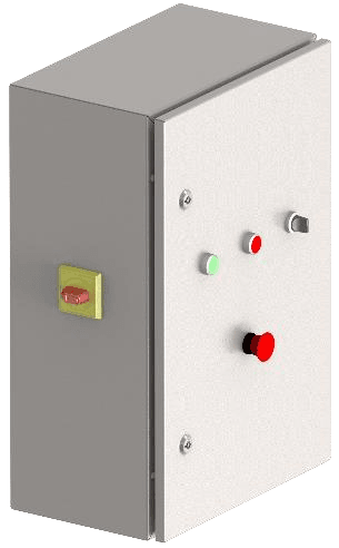Control Cabinet with built in Frequency Inverters