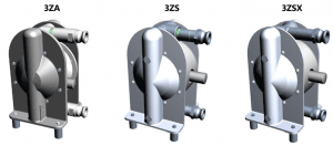 Diaphragm Pump CAM Lock connection options