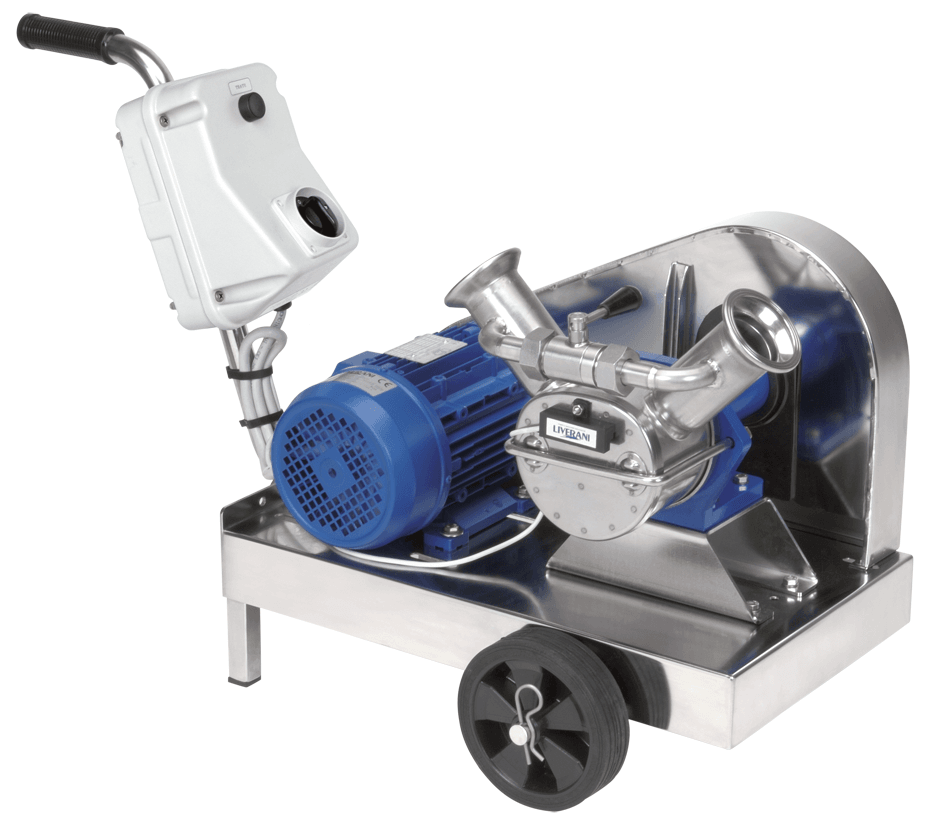 Trolley Mounted V Belt Drive Self-Priming Flexible Impeller Pump