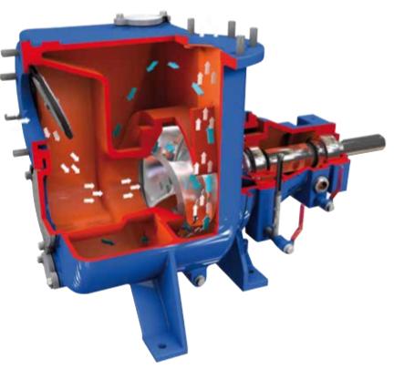 BBA Self Priming Centrifugal Pump operating principle