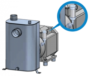 Lubricated Externally Quenched Mechanical Seals