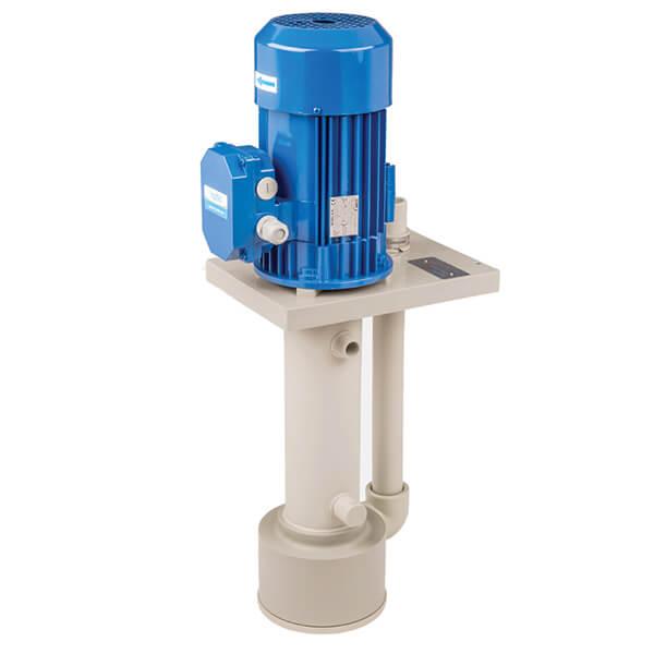 PP PVDF Vertical Immersion Pump