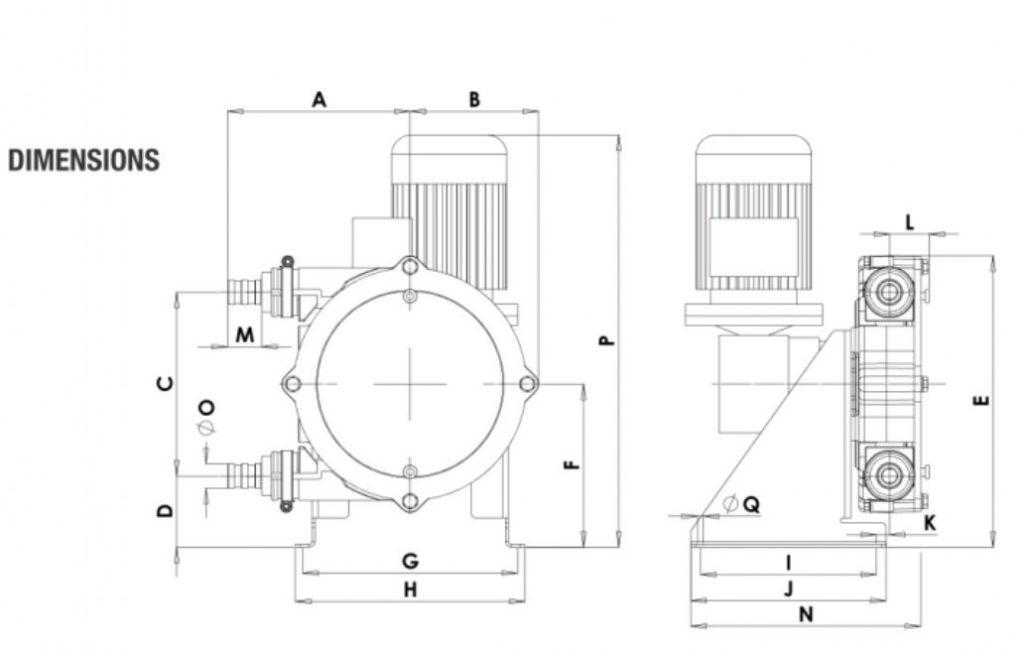 Peristaltic_Pump_ALP, PTL_17_dimensions