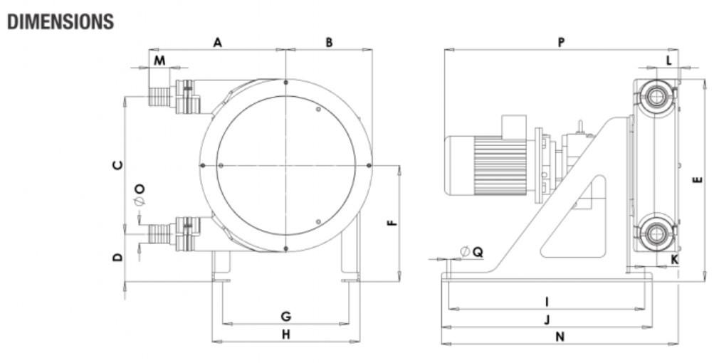 Peristaltic_Pump_ALP, PTL_25_dimensions