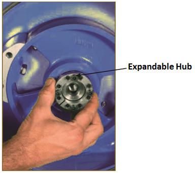 Peristaltic Pump Wheel Dismantling