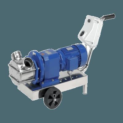 Gearbox Drive Self Priming Flexible Impeller Pump