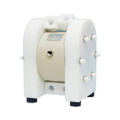 Twin Diaphragm Pump in HDPE/PTFE