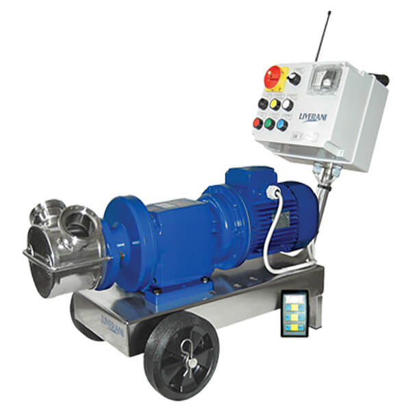VA & INV Self Priming Flexible Impeller Pumps