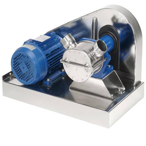 V-Belt Drive Self Priming Flexible Impeller Pump