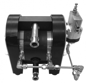 Diaphragm Pump with Guardian control system