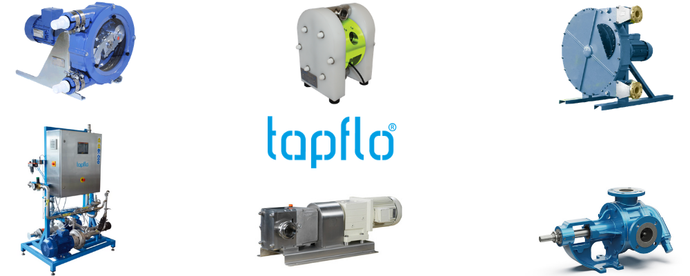 Dosing Pumps Product Range from Tapflo