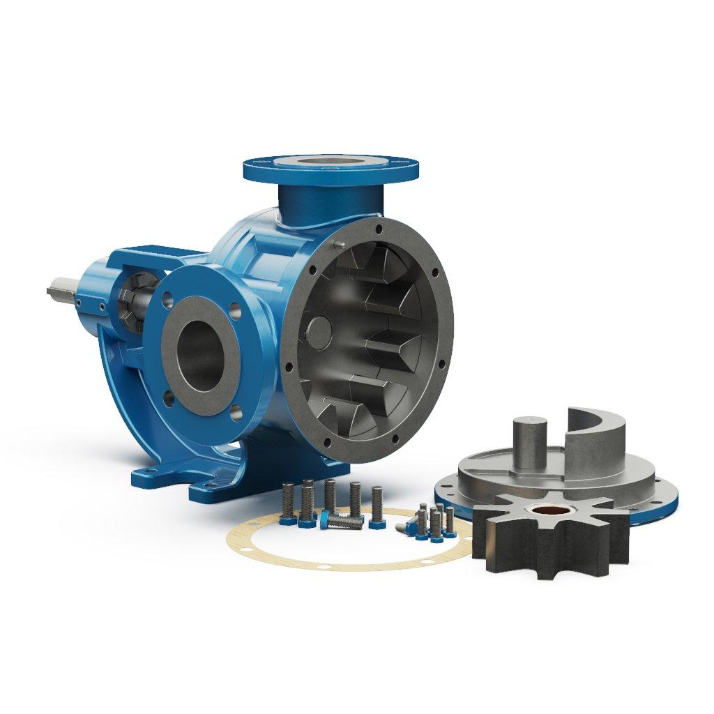 Internal Eccentric Gear Pump Internal view