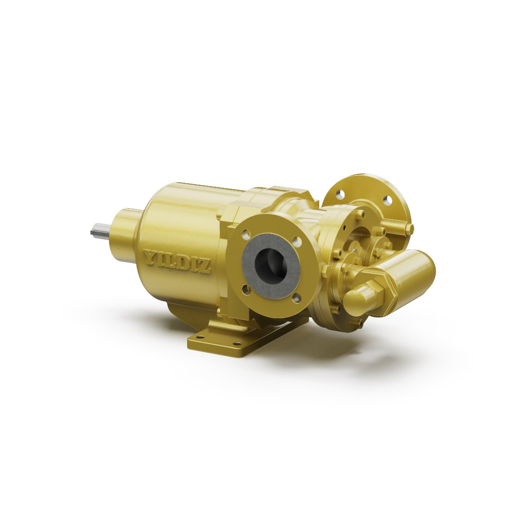 Magnetically Driven Internal Eccentric Gear Pumps