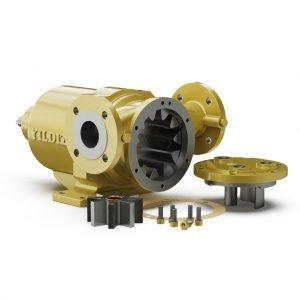 Yildiz Pompa Mag Drive Internal Gear Pump Internal View