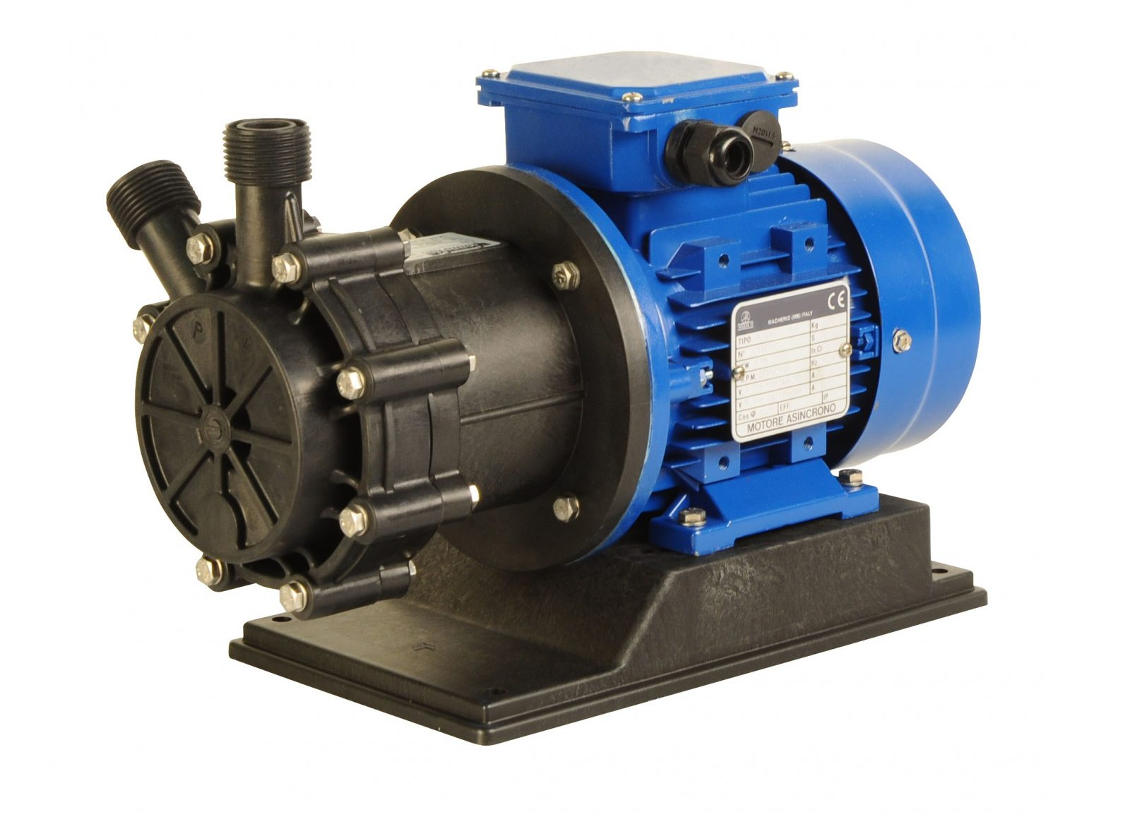 Magnetically Driven Regenerative Turbine Pump - TMP