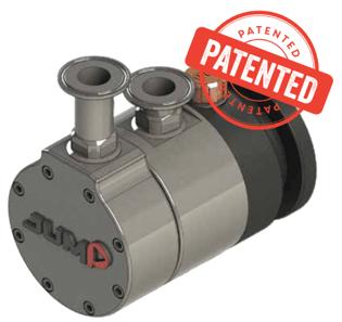 Sealless Eccentric Disc Pump