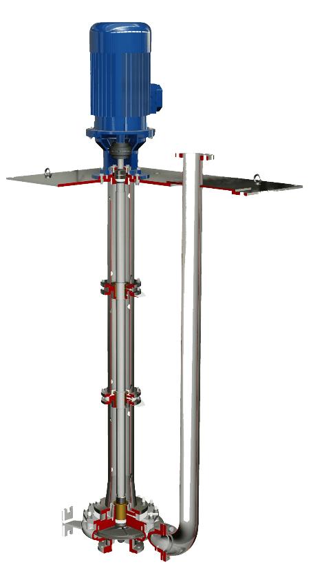 Salvatore Robuschi Immersion Centrifugal Pump