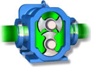 Operating Principle of a Lobe Pump