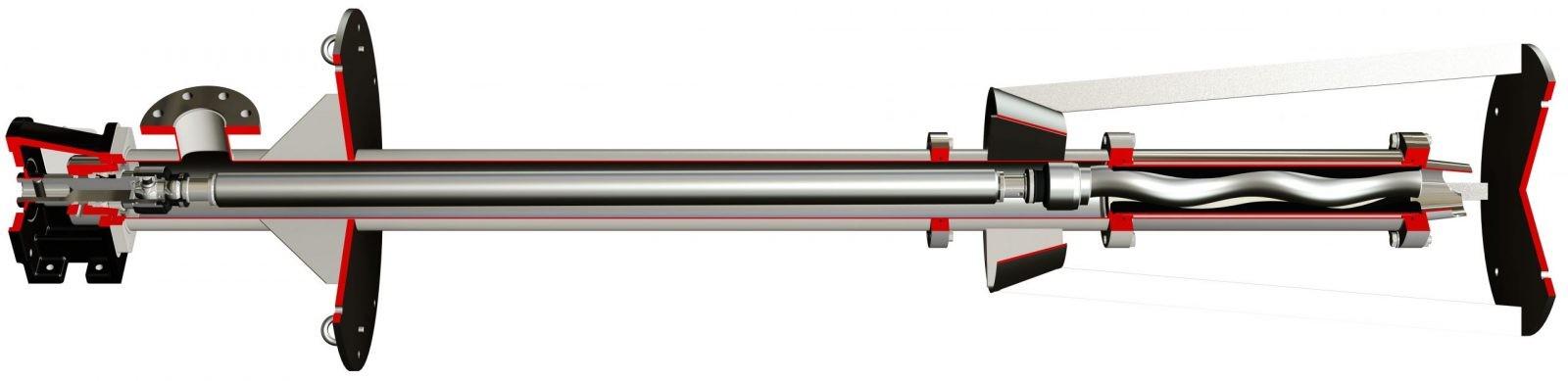 Vertical Progressive Cavity Pump