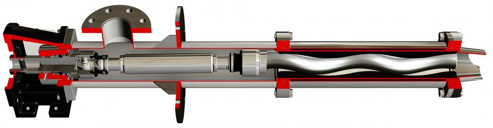 Short Vertical Progressive Cavity Pump