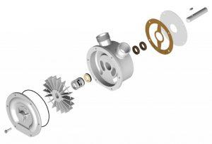 Technical information Liquid ring pump parts