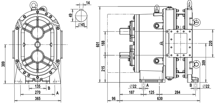 Dimensions for MG 27