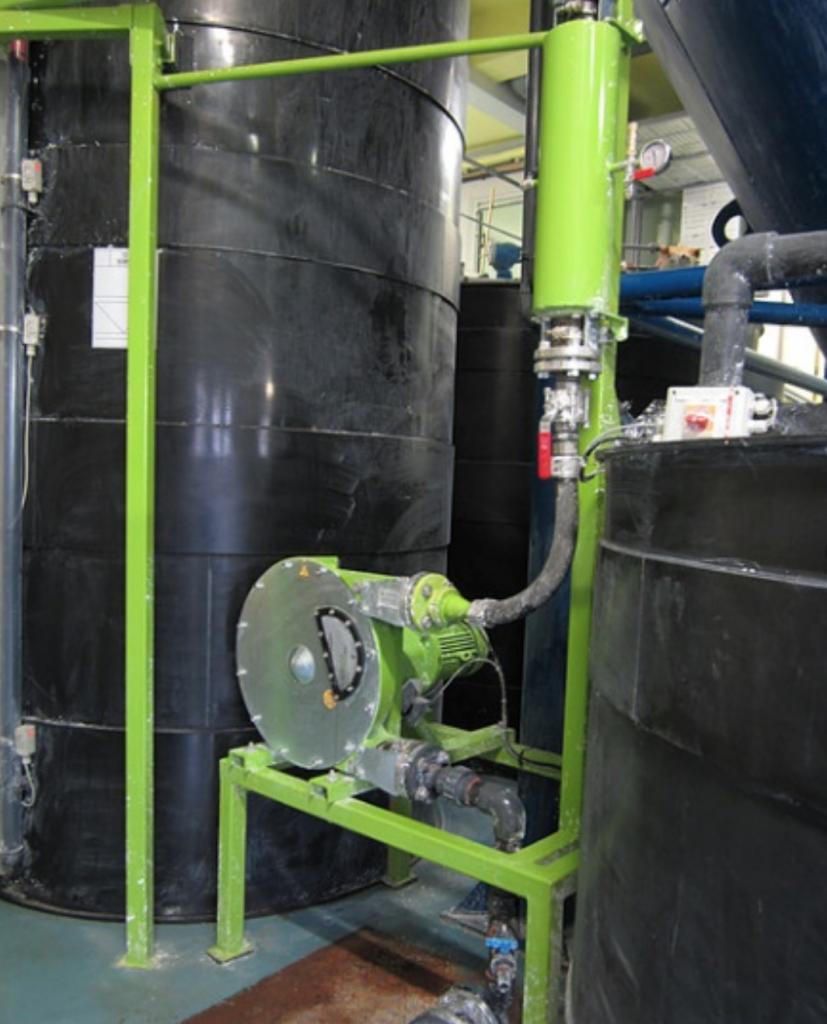 Peristaltic Pump Pulsation Dampener