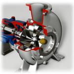 RC Recessed Vortex Impeller Functionality