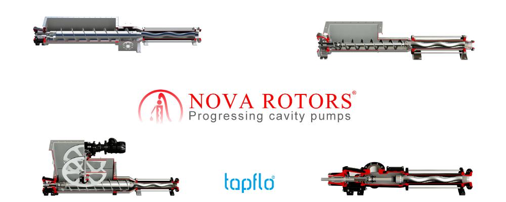 progressive cavity pump range from nova rotas
