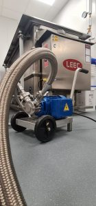 Flexible Impeller Pump for Chemical Transfer to IBCs