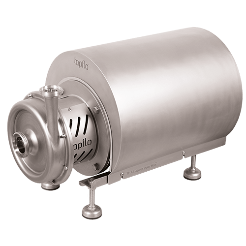 Hygienic High Performance Centrifugal Pump with Shroud