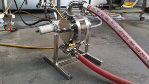 Sanitary LEAP Pump installed in Brewery