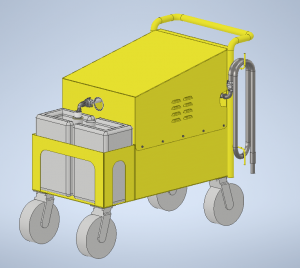 Mobile Pump Solution for Rail Industry with Flexible Impeller Pump
