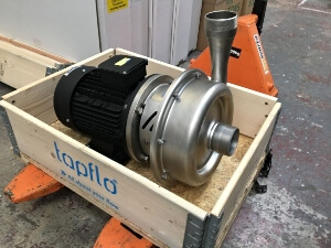Tapflo CTX Pump solution