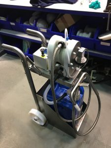 mdu-20 trolley in factory
